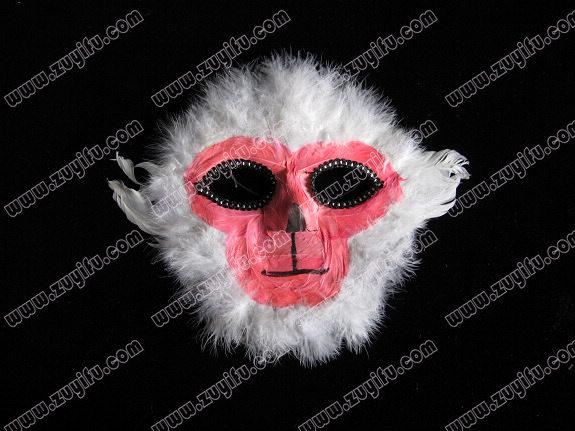 化妆舞会面具(猴脸)